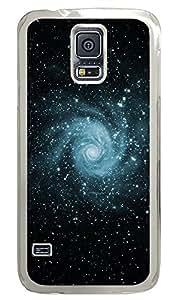 Samsung Galaxy S5 Skyviews Space Swirl PC Custom Samsung Galaxy S5 Case Cover Transparent