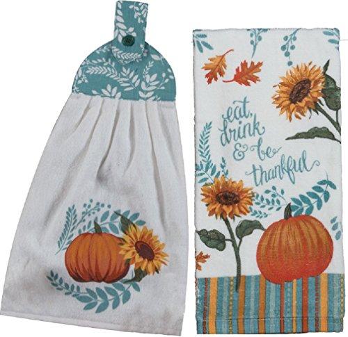 Kay Dee Designs Harvest Delight Tie Towel Bundle with Terry