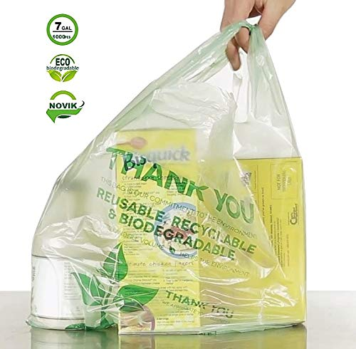 NOVIK - Bolsas biodegradables compostables ecológicas de plástico ...
