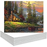 FIXSMITH Painting Canvas Panels - 9 x12 Inch Canvas