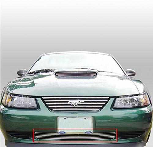 ZMAUTOPARTS Ford Mustang Front Bumper Lower Billet Grille Grill GT Mach (Gt Lower Billet)