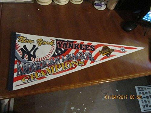 New York Yankees American League Champions 1996 pennant