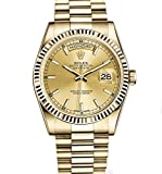 Rolex Day-Date President 36mm Yellow Gold Watch Champagne Dial