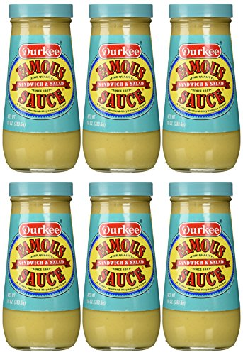 Durkee Famous Sauce, 10-Ounce (Pack of 6) (Best Deep Fried Turkey Recipe)