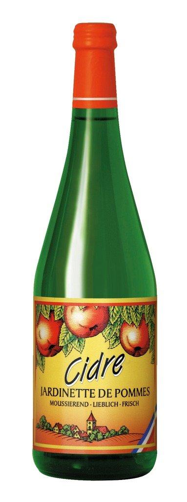 Jardinette de Pommes Cidre aus der Normandie - Apfelwein - lieblich 2%Vol 0,75l