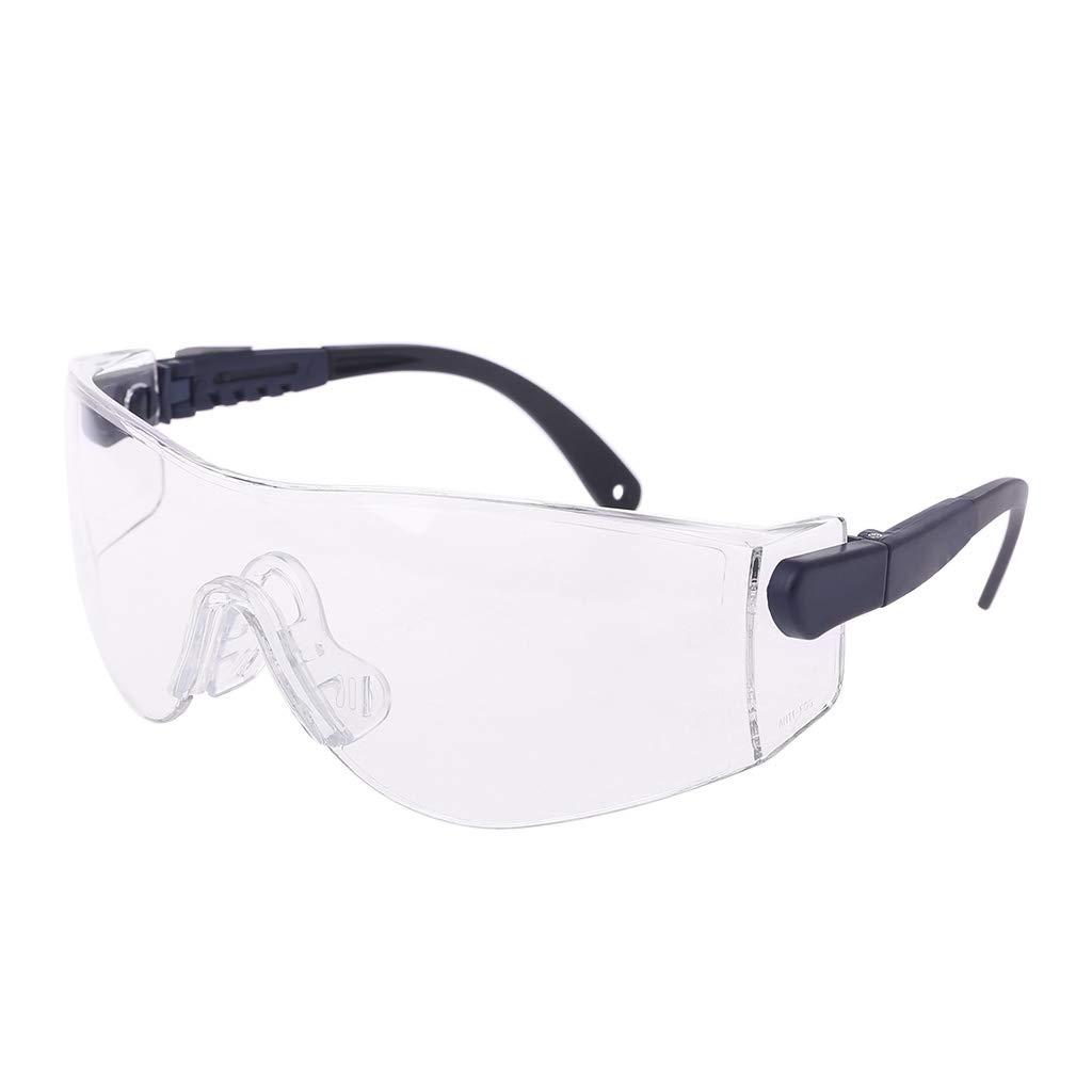 Gafas protectoras para hombre, mujer, ciclismo, antiarena, protección contra el polvo, resistencia al impacto protección contra el polvo Freshsell