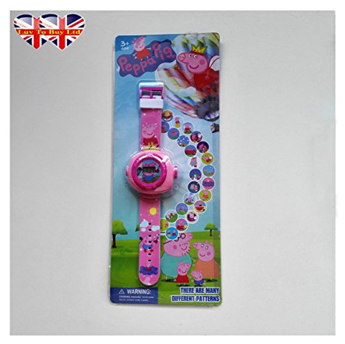 Peppa Pig Watch Digital Projection Watch For Children Kids