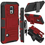 zenic Galaxy S5 Case, (TM) Hybrid Dual Layer Armor