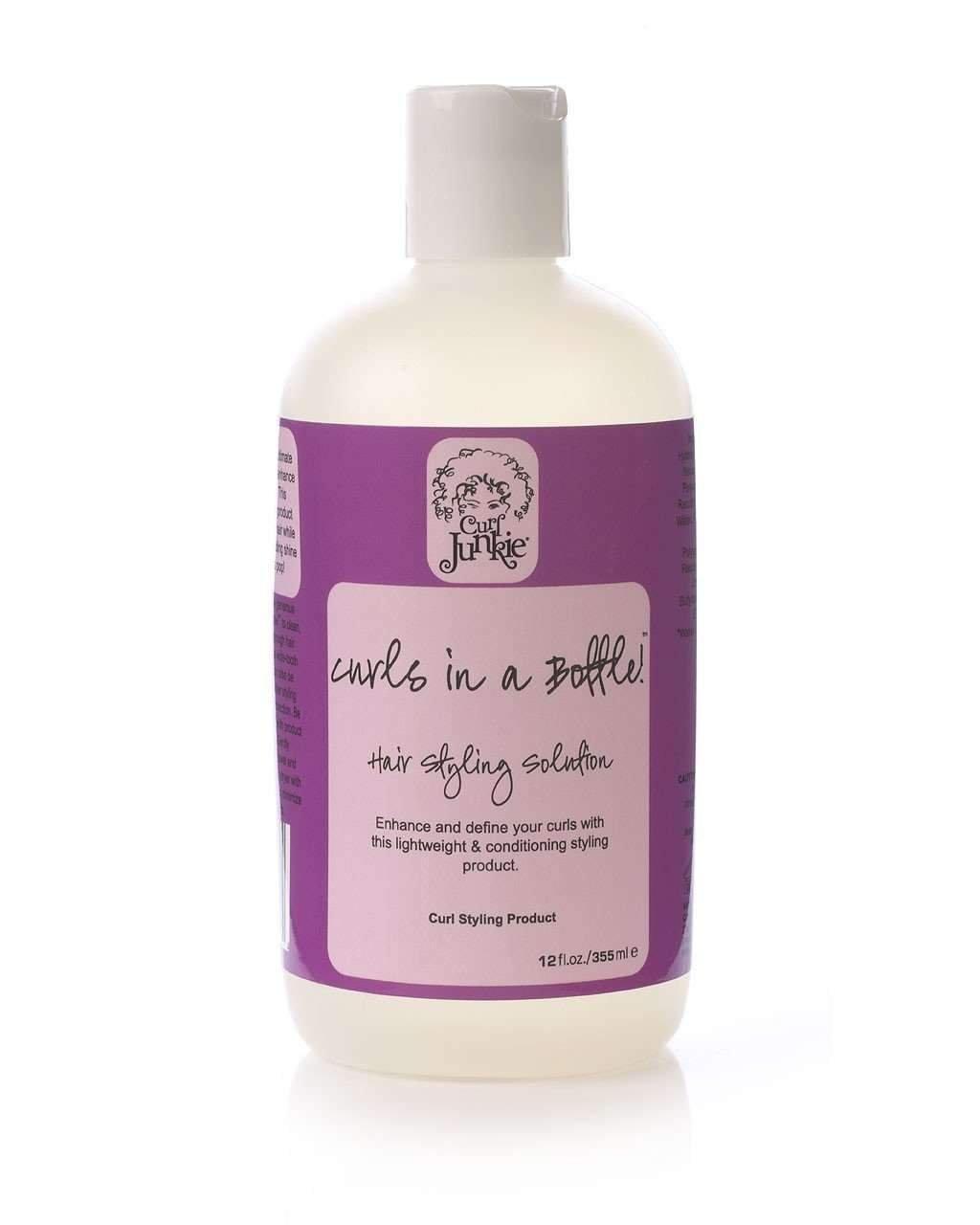 Curl Junkie Curls in a Bottle! Hair Styling Solution - 12 oz