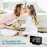 Mpow Desk & Shelf Clocks, LED Alarm