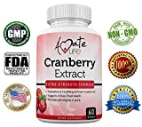 Cheap Amate Life Cranberry Extract (12660mg) for Urinary Tract Defense with Vitamin C & Vitamin E – Promotes Kidney, Urinary Tract & Bladder Health – Dietary Supplement for Women & Men – 60 Softgels