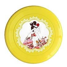 Dog's wedding Pet Fashion Interesting Outdoor Soft Game Frisbee Toys Flying Discs Pet Frisbee
