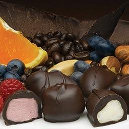 Philadelphia Candies Assorted Dark Boxed Chocolates, 1 Pound Gift Box