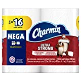 Charmin Ultra Strong Mega Roll Toilet Paper, 24 Count
