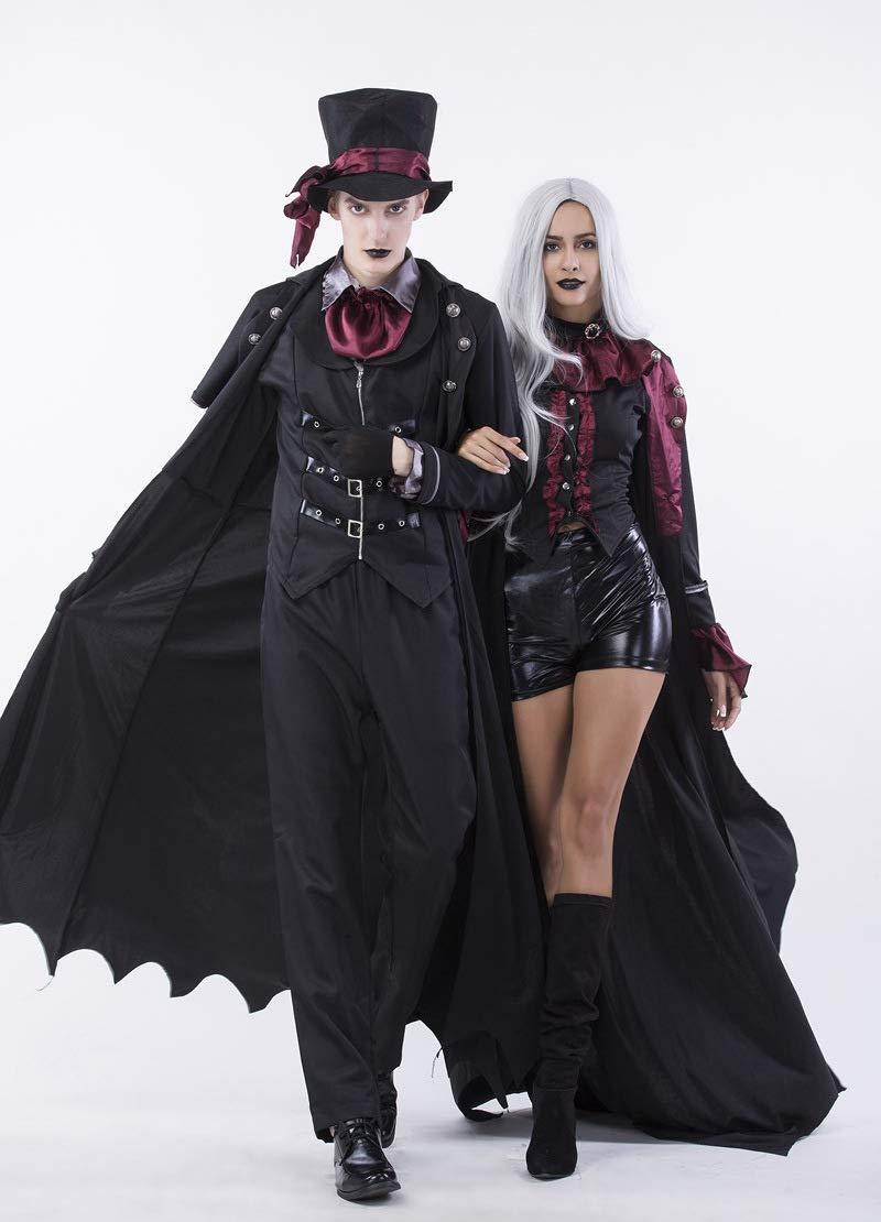 GYH Frauen Männer Bekleidung Halloween Film Cosplay Hexe Vampir Kostüm Earl Paar Tragen Party B07H3TPGM3 Kostüme für Erwachsene Nutzen Sie Materialien voll aus     | Discount