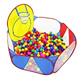SANDAO Funny Gadgets Eco-Friendly Ocean Ball Tent Pit Pool BOBO Ball Tent Folding (Balls No Include ) Children Baby Toy Game Play House
