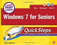 Windows 7 for Seniors QuickSteps Front Cover