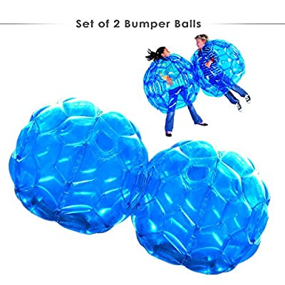 Inflatable Bumper Balls Set of 2 Wearable Zorb Bubble Soccer for ...