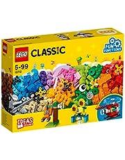مجموعة لعبة بناء المكعبات والتروس من ليجو - للاطفال من سن 5 سنوات فما فوق