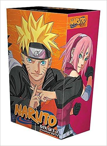 Naruto Box Set 3: Volumes 49-72 with Premium (Naruto Box Sets)