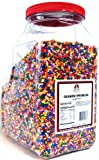 Chef's Quality Rainbow Sprinkles 7lb Container, Health Care Stuffs