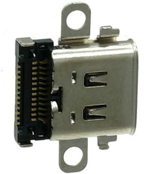 Repuesto Original de Puerto de Carga USB C Tipo C Sync y Enchufe de Cargador de alimentación para Consola Nintendo Switch: Amazon.es: Electrónica
