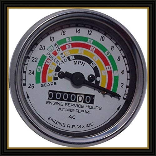 Fordson power major super major tractor tachometer 80mm