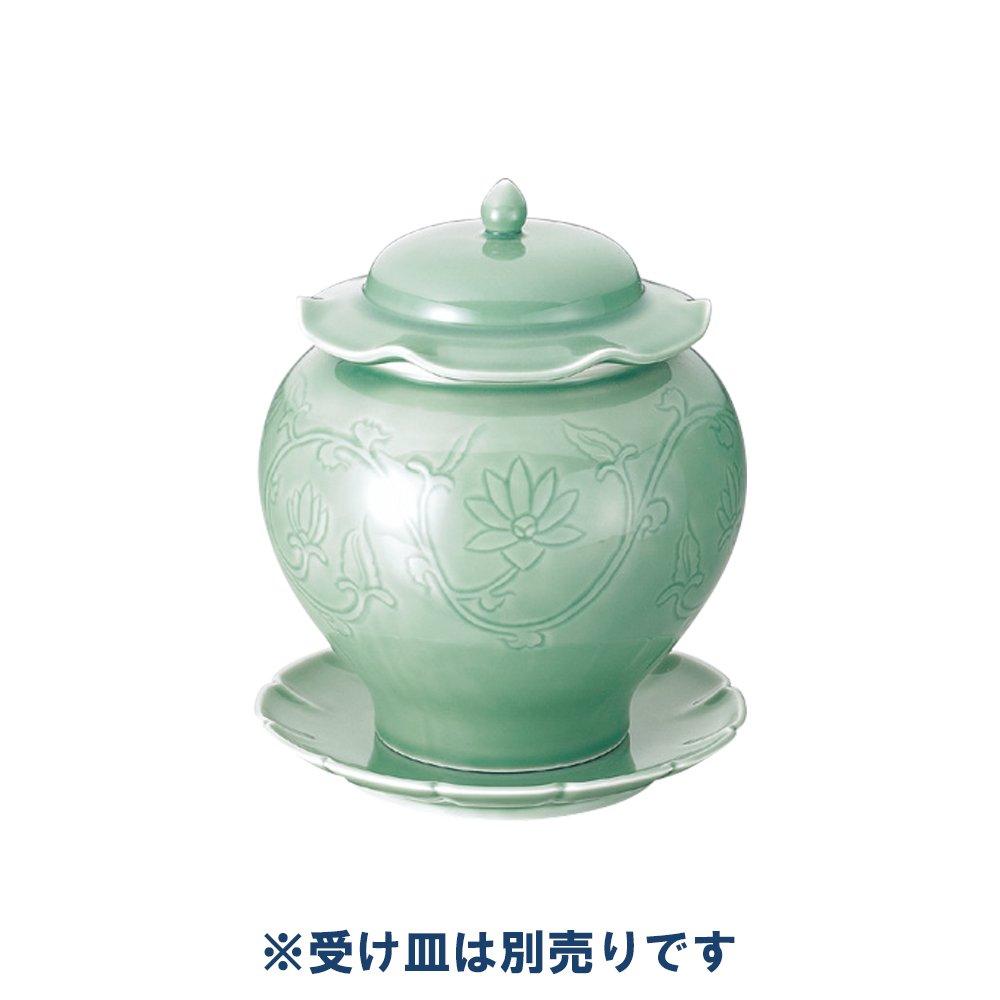 砧青磁仏跳壇 中(5~8名用) [有田焼] B01M29VPU5