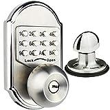 Elemake Keyless Entry Door Lock Deadbolt Keypad Digital Pass Code Security Mechanical Stainless