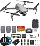 DJI Mavic 2 Pro (Hasselblad Camera) Fly More Combo Deluxe Bundle, 3 Batteries, Charging Hub, Extreme...