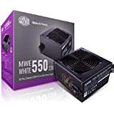 Cooler Master MWE 80Plus White 550W 230V 80Plus Single +12V Rail Silent Mode DC-to-DC Power Supply - Black - MPE-5501…