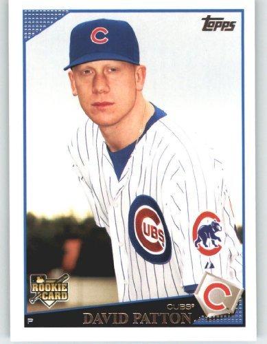 2009 Topps Baseball Card 633 David Patton Rc Rc Rookie Card