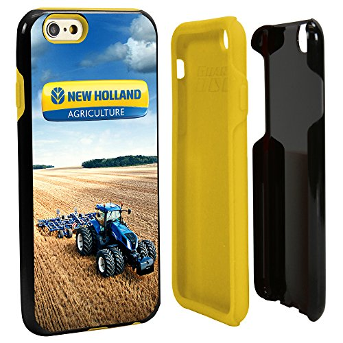 Guard Dog New Holland AG Hybrid Case for iPhone 6 / 6s with Guard Glass Screen Protector - Black