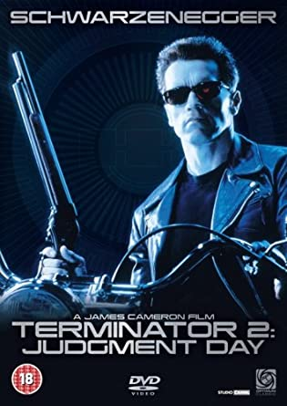 Image result for Terminator 2 dvd cover