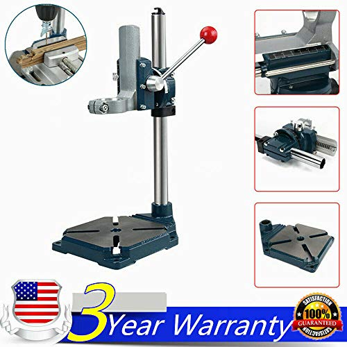 Unik Always Bench Drill Press Pedestal Precise Drill Stand for Hand Electrical Drill 90degree