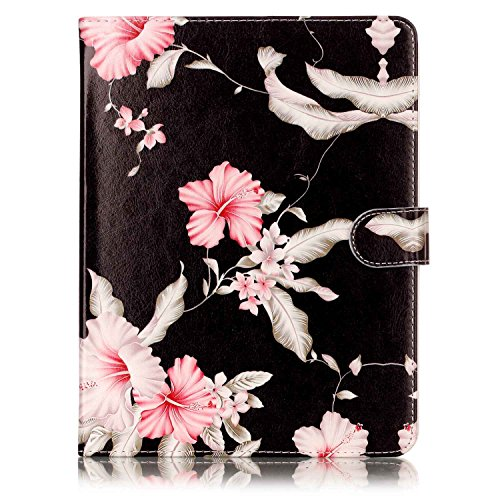 (iPad Pro 10.5 Case, SsHhUu Wallet Soft Slim PU Leather Flip Case [Marble Pattern] Magnetic Protective Cover Case + Stylus Pen for Apple iPad Pro (10.5