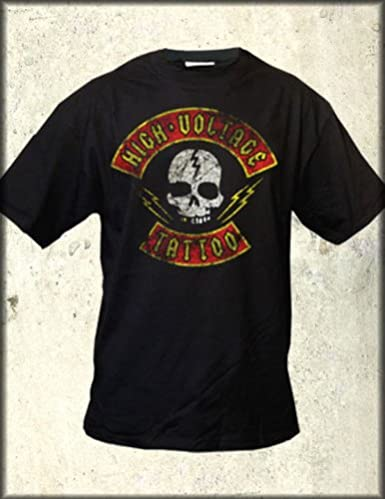 Amazon.com: High Voltage Tattoo (owned by Kat Von D) Distressed ...