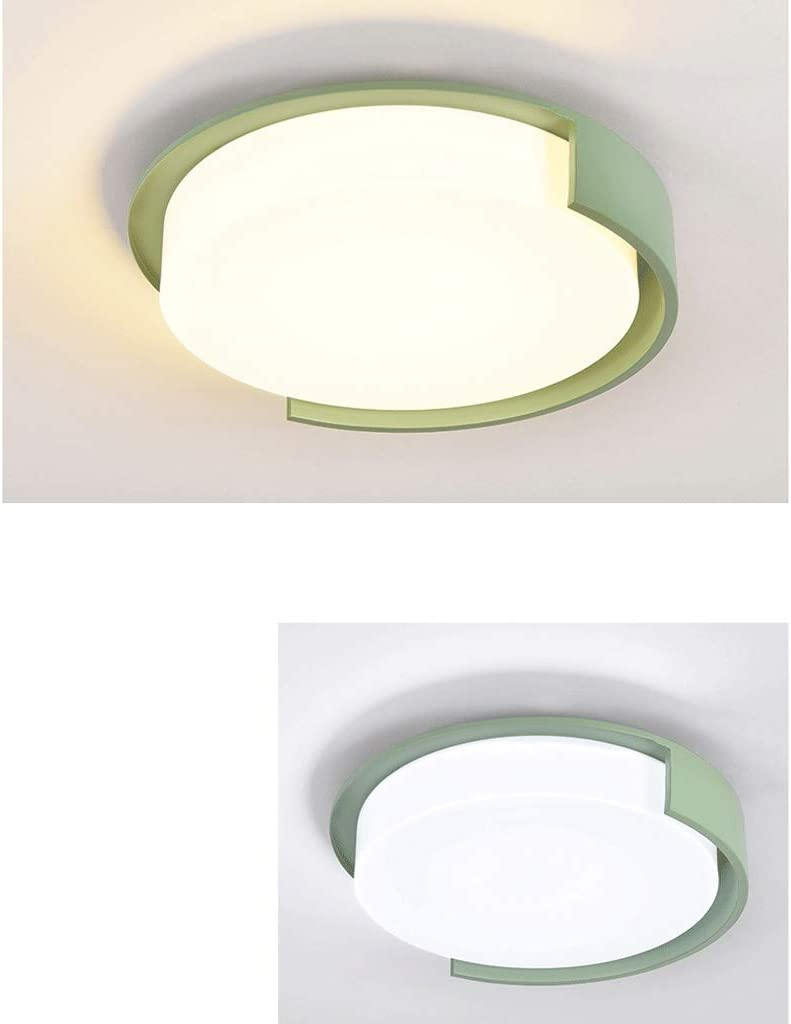 Deckenleuchte LED Creative Schlafzimmerlampe ∅47cm (Farbe: Stepless Dimming-Blue (47cm)) Stepless Dimming-green(47cm)