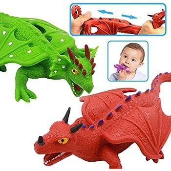 Amazon.com: Lizards Toys,9-inch Rubber Lizard Figure Realistic Replica Sets(6 PACK),Food Grade ...