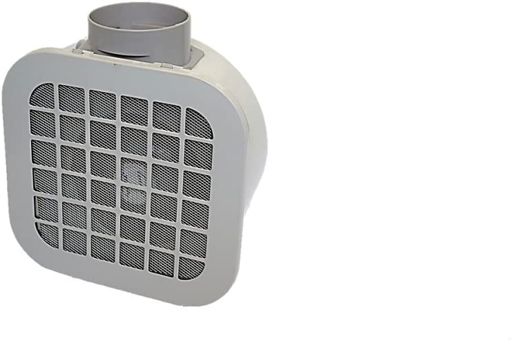 Novovent CHEF400 Ventilador Extractor Centrífugo, 60 W, 230 V, 100 mm