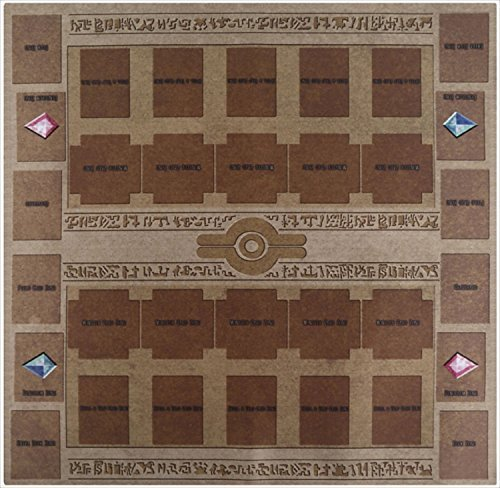 Yu-gi-oh Arc-v Card Rubber Play Mat Egypt mural style Type (For Competition) Pendulum Zone Yes! 60 ?60cm Size 2mm by - Link Playing Cards
