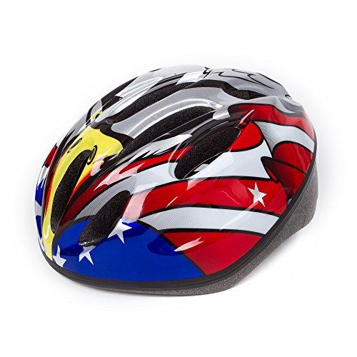 SUNVP Kids Toddler Bike Helmet Multi-Sport Skateboarding Ska