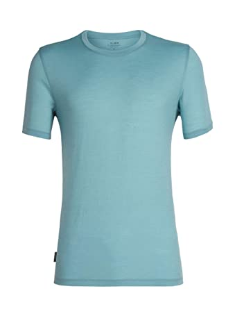 dcf0481f8d Icebreaker Men's Tech Lite Ss Crewe First Layers: Amazon.co.uk: Clothing