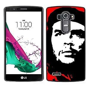 EJOY---Cubierta de la caja de protección para la piel dura ** LG G4 ** --Che Guevara