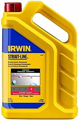 Irwin Strait Line 65102 5 Lbs Red Chalk Refills