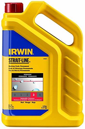 (Irwin Strait Line 65102 5 Lbs Red Chalk Refills)