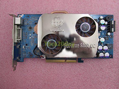 Gpu Nvidia Geforce 6800 (BFG BFGR6800OC NVIDIA GeForce 6800 128MB DDR 256-Bit AGP 4X/8X Video Card GPU)