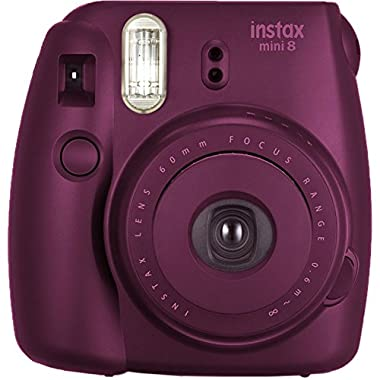 Fujifilm instax mini 8 Instant Film Camera (Plum)