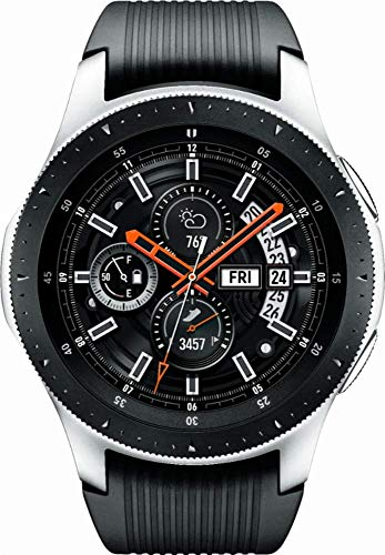 Samsung SM-R805UZSAXAR Galaxy Watch Smartwatch 46mm Stainless Steel LTE GSM (Unlocked), Silver (Renewed) (Samsung Galaxy S4 Sprint)