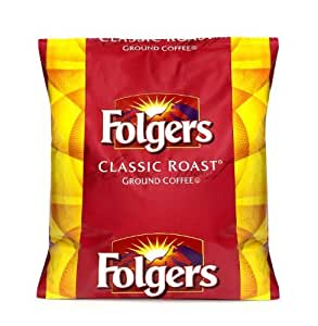 Folger's Classic Roast Ground Coffee, 44 Ounce Bag (Pack of 6)